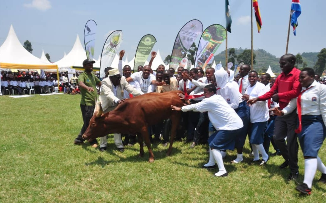 Kisoro Vision S.S wins National Wild life Competitions, March 2020